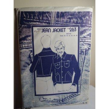Men's Jean Jacket Sewing Patterns 263