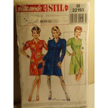 Neue Mode Sewing Pattern 22193