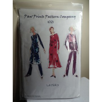 Paw Prints Pattern Company Sewing Pattern 1021