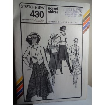 Stretch & Sew Sewing Pattern 430