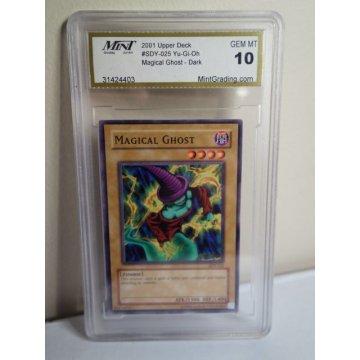 Yu-Gi-Oh! Maigcal Ghost Card, Graded Mint 10 GEM MT