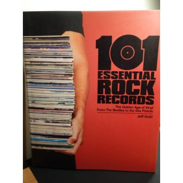 101 Essential Rock Records, Hardcover, RARE!!