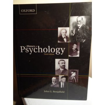 A History of Psychology 3rd Edition, John G. Benjafield