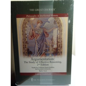 The Great Courses: Argumentation, Audio CD