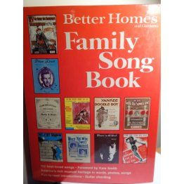 Better Homes and Gardens, Family Song Book,Hardcover
