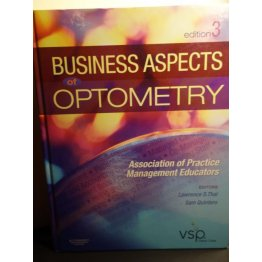 Business Aspects of Optometry,3rd Edition