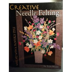Creative Needle Felting Wool Art with a Painterly Style