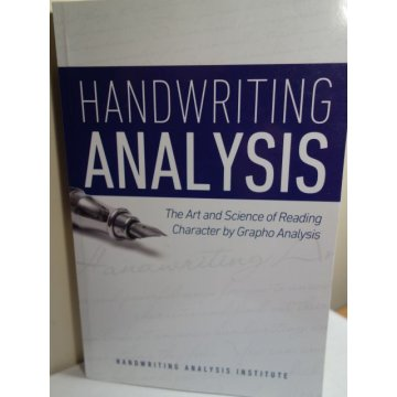 Handwriting Analysis - The Art and Science - M N Bunker