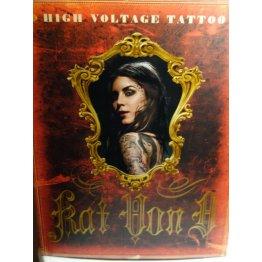 High Voltage Tattoo by Kat Von D