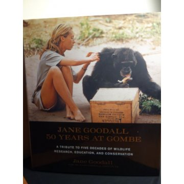 Jane Goodall - 50 Years at Gombe Hardcover