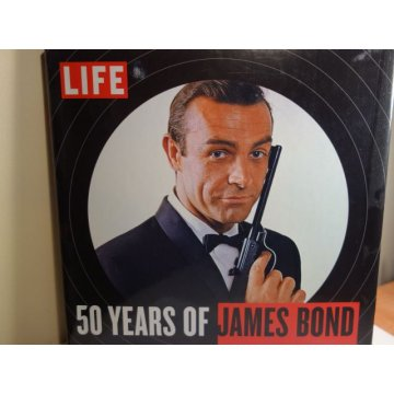 LIFE 50 Years of James Bond, Hardcover, LIFE Books