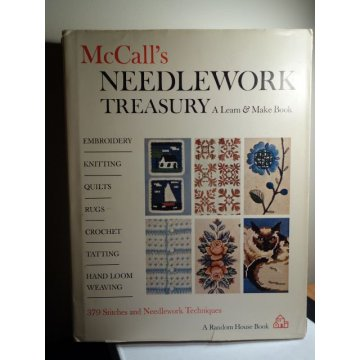 McCalls Needlework Treasury, with Dust Jacket - 1964