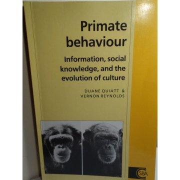 Primate Behaviour: Information, Social Knowledge