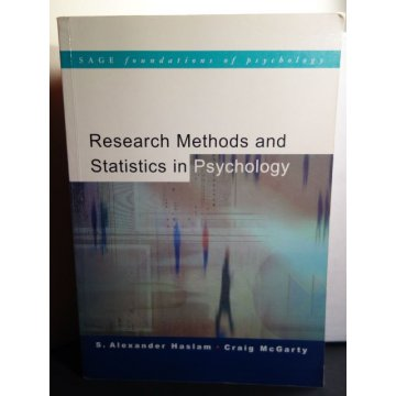 Research Methods and Statistics in Psychology, Haslam