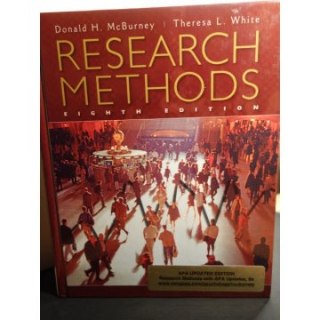 Research Methods with APA Updates, Revised 8th Edition