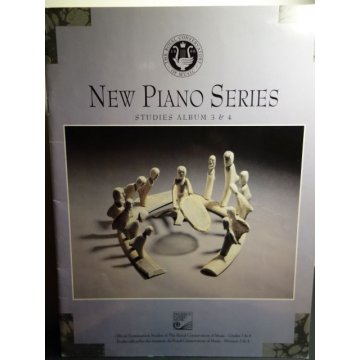 Royal Conservatory New Piano Series, Studies Album 3-4