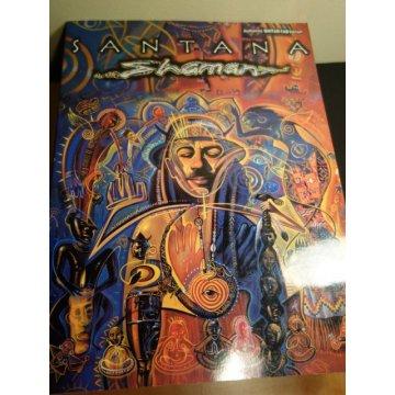 Santana Shaman - Authentic Guitar-Tab Editions