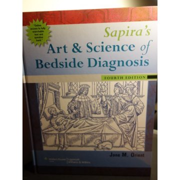 Sapiras Art and Science of Bedside Diagnosis4th Ed.