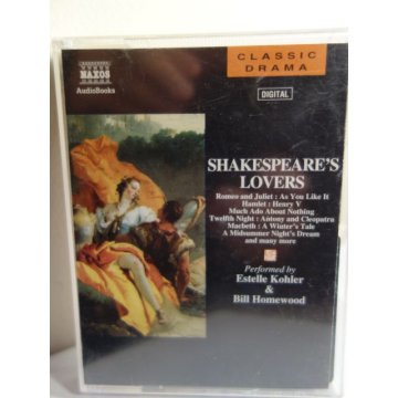 Shakespeares Lovers - Audio Book, Audio Cassettes
