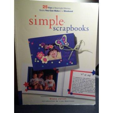 Simple Scrapbooks by Stacy Julian
