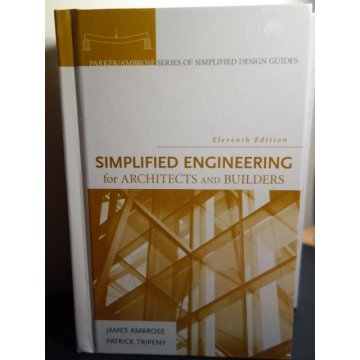 Simplified Engineering for Architects and Builders 11th