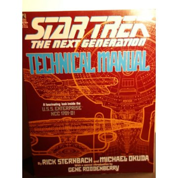 Star Trek The Next Generation - Technical Manual 1st Ed