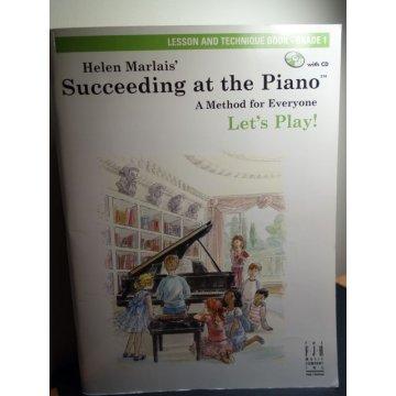 Succeeding at the Piano, Lesson Technique Book - Grade1