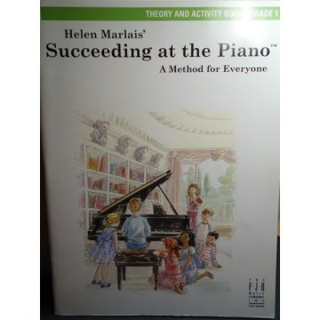 Succeeding at the Piano, Theory Activity Book - Grade 1
