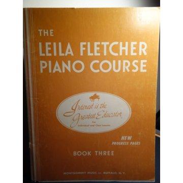 The Leila Fletcher Piano Course Book 3,Sheet music