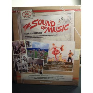 The Sound of Music Family Scrapbook Hardcover