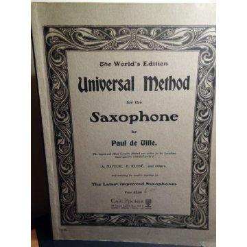 Universal Method for the SaxophonePaul de Ville, 1908