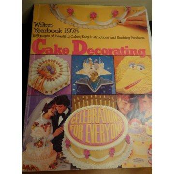 Wilton Yearbook 1978 Cake Decorating,Paperback