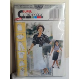 Burda Sewing Pattern 4826
