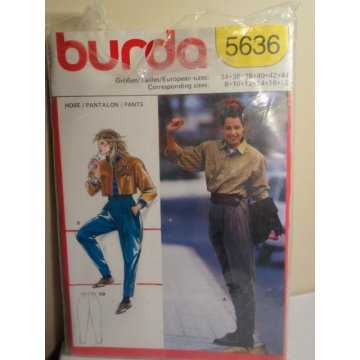 Burda Sewing Pattern 5636