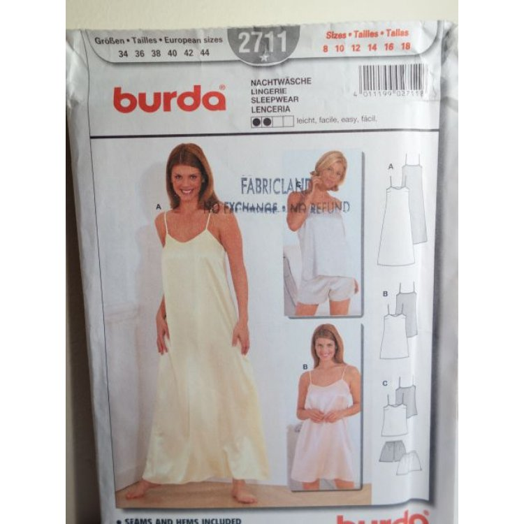 BURDA Sewing Pattern 40 Interesting Burda Sewing Patterns