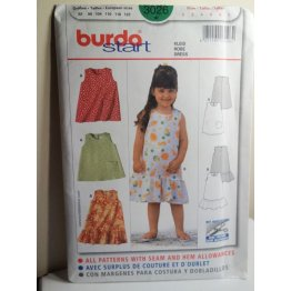 BURDA Sewing Pattern 3026