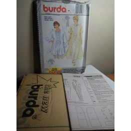 BURDA Sewing Pattern 3763