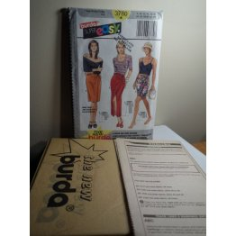 BURDA Sewing Pattern 3780
