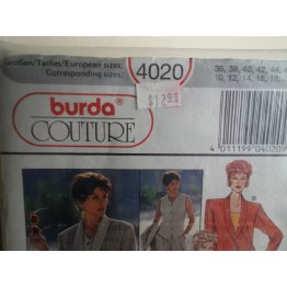 BURDA Sewing Pattern 4020