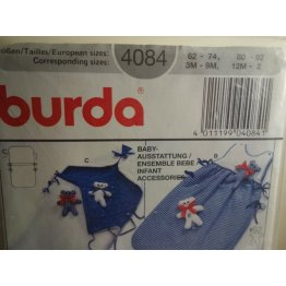 BURDA Sewing Pattern 4084