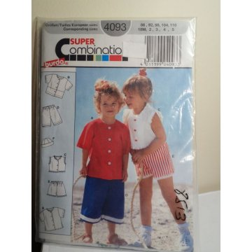 Burda Sewing Pattern 4093