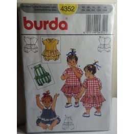 BURDA Sewing Pattern 4352