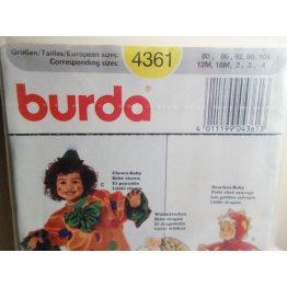 BURDA Sewing Pattern 4361