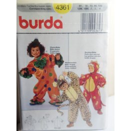 BURDA Sewing Pattern 4361