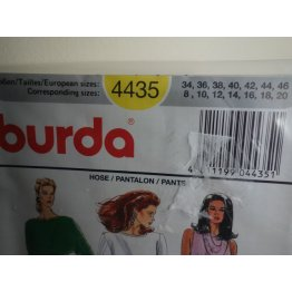 Burda Sewing Pattern 4435