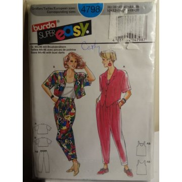 Burda Sewing Pattern 4798