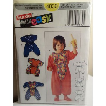 BURDA Sewing Pattern 4830