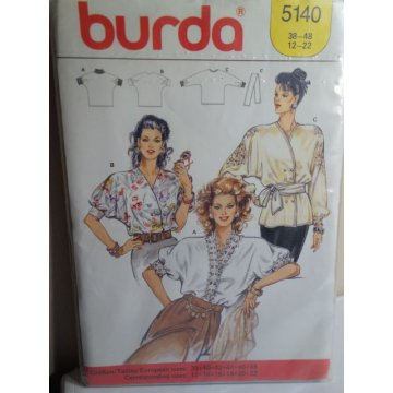 BURDA Sewing Pattern 5140