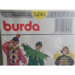 BURDA Sewing Pattern 5240