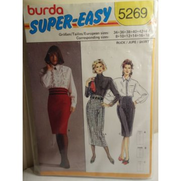 BURDA Sewing Pattern 5269